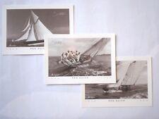 Pen - Duick Tabarly carte timbre voilier noir et blanc lot neuf