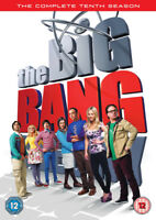 The Big Bang Theory: The Complete Tenth Season DVD (2017) Johnny Galecki cert
