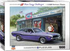 Eurographics 60000985 Puzzle 1000 Pieces 70 Challenger R/T Plum Crazy Challenger