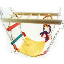 Hamster Toy Suspension Bridge Ladder Hammock Rope Toy Activity Centre Fa1