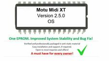 MOTU MIDI Express XT USB - Version 2.5.0 EPROM Firmware Upgrade OS