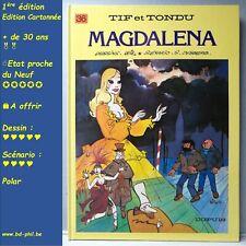 Tif et Tondu, 36, Magdalena, Will, Desberg, Dupuis, EO, 1987, EN, C