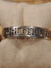 Brighton World Peace Bangle Bracelet