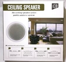 Built-In Speakers Multimedia Round 6W, ceiling speaker / mounting speaker clips