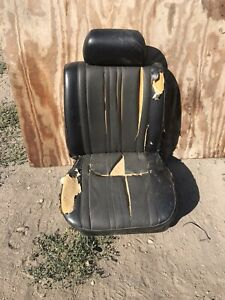 Datsun 510 LH Front Seat 2DR OEM Slides And Mounting Hardware