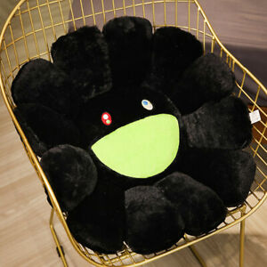 Takashi Murakami KiKi Ohaha Rainbow Flower Plush Cushion KaiKai Large Pillow