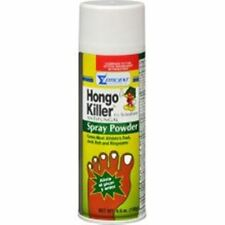 Hongo Killer Antifungal Spray Powder 4.60 oz (Pack of 2)