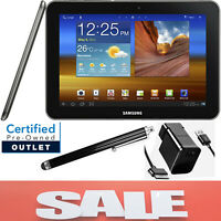 SAMSUNG GALAXY TAB (SGH-i957) • 8.9in • 16GB • Metallic Gray • Wi-Fi • & Bundle!