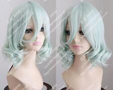 Harajuku wig, Light green, short hair, wigs, heroes Union Cos Wig /Good Wig!