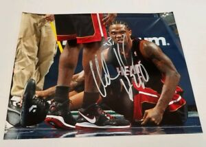 Udonis Haslem Miami Heat Autographed 8x10 Signed Photo COA FREE S&H Autographed