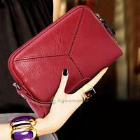 Women Mini Handbags Lady Clutch Tote Purse Vintage PU Leather Bag Handbag Wallet