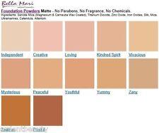 Bella Mari Natural Mineral Foundation Powder SPF 15, Select Color