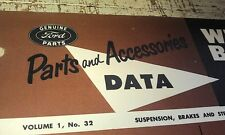 1928 - 1954 FORD Wheel Bolts & Nuts Leaflet  Customline Pilot Prefect Utes etc
