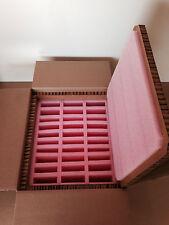 """Hexacomb & Foam Custom Box 23.5"""" x 20"""" x 12"""" -  w / Inserts for 30 disk drives"""