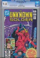 Unknown Soldier  #261 CGC 9.8 1982 DC War: Make an Offer~ Price Drop!