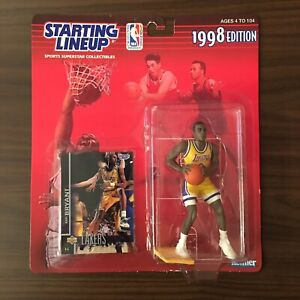 1998 Kobe Bryant Starting Lineup LA Lakers SLU Basketball NBA Rookie Card Shaq