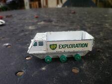 MATCHBOX N° 61 ALVIS STALWART BP EXPLORATION état d'usage correct, sans pneu.