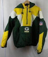Vintage Green Bay Packets NFL Starter Pro Line Pullover Jacket Embroidered Logo