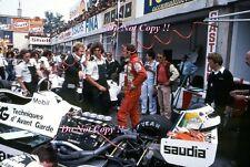 Carlos REUTEMANN Williams fw07c ITALIANO GRAND PRIX 1981 FOTO 4