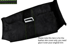 GREEN STITCH FRONT ROOF HEADLINING PU SUEDE SKIN COVER FITS VW T5 TRANSPORTER