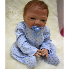 Realistic Reborn Baby Boy Doll Lifelike Baby Toy FULL BODY Early Education Gift