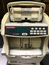SEMACON S-1400 CURRENCY COUNTER USED