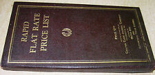 Chiltons 1927 Rapid Flat rate & Price List & Repair & Parts #'s 1924 1925 1926