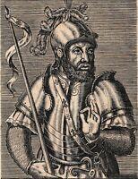 Portrait XVIIe Jean IV Duc de de Bretagne Comte de Monfort de Richemond 1670