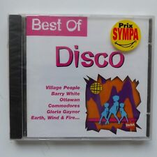 CD Best of disco  VILLAGE PEOPLE  BARRY WHITE  OTTAWAN  COMMODORES 3004672