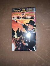 NEW The Horse Soldiers - JOHN WAYNE / WILLIAM HOLDEN (VHS, 1998)