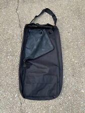 Black 3 hook bridle bag with pocket