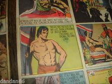 1941 42 WWII TARZAN Sunday Comic Strips (3) The Milwaukee Journal Wi Burroughs