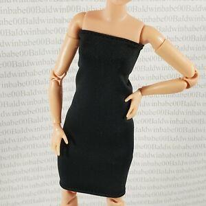 COCKTAIL C ~DRESS BARBIE DOLL MADE TO MOVE PETITE SIGNATURE LOOKS #3 BLACK SKIRT