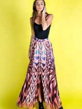 Animal Print Formal Regular Size Skirts for Women