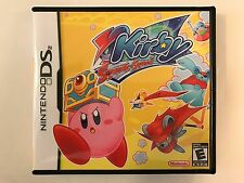 Kirby Squeak Squad - Nintendo DS - Replacement Case - No Game