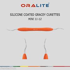 Silicone coated Gracey Curette Mini instrument dentaire 11/12 parodontales redimensionnement