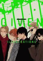 'NEW' Given Illustrations Natsuki Kizu   JAPAN Anime Manga Art Book BL Yaoi