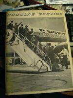 Douglas Service 1965 Magazine - Vintage DC-8 Aircraft Company Jet Airplane Book