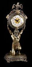 Atlas Figura Mantiene Reloj - Estatua VERONESE Bronceada Diós griego
