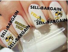Flash Sale》GEORGIA TECH GT YELLOW JACKETS COLLEGE LOGOS》Tattoo Nail Art Decals