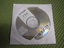 New ! Genuine Lexmark 730 Series Printer CD Software Drivers Utilities
