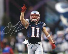 Julian Edelman New England Patriots autographed 8x10 photograph RP