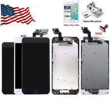 For iPhone 5 6 7 6S 8 Plus Full LCD Digitizer Screen Replacement Home Button