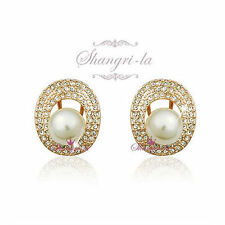 Swarovski White Gold Filled Pearl Fashion Jewellery