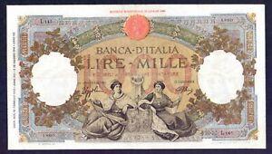 1000 lire Capranesi L'AQUILA 1943 RaRa in qSPL
