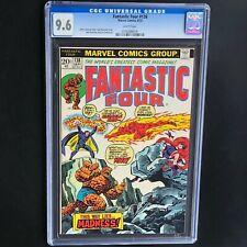 FANTASTIC FOUR #138 💥 CGC 9.6 White Pgs NM+ 💥 Miracle Man Marvel Comics 1973