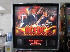 AC/DC Pinball Stern Arcade Machine. Nice. Free Shipping. Led Kit Installed!