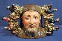 Large Royal Doulton Toby Jug Mug Rare Geoffrey Chaucer D7029 Mint!