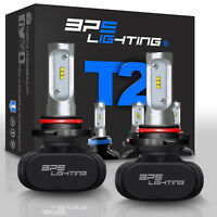 BPS Lighting T2 Series 9005/HB3 LED Headlight Bulbs Conversion Kit 8000LM 50W
