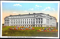 1920's Postcard New Agricultural Department Building Washington DC